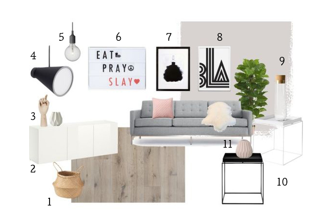 Scandi Kitsch Living by minimalistmuss