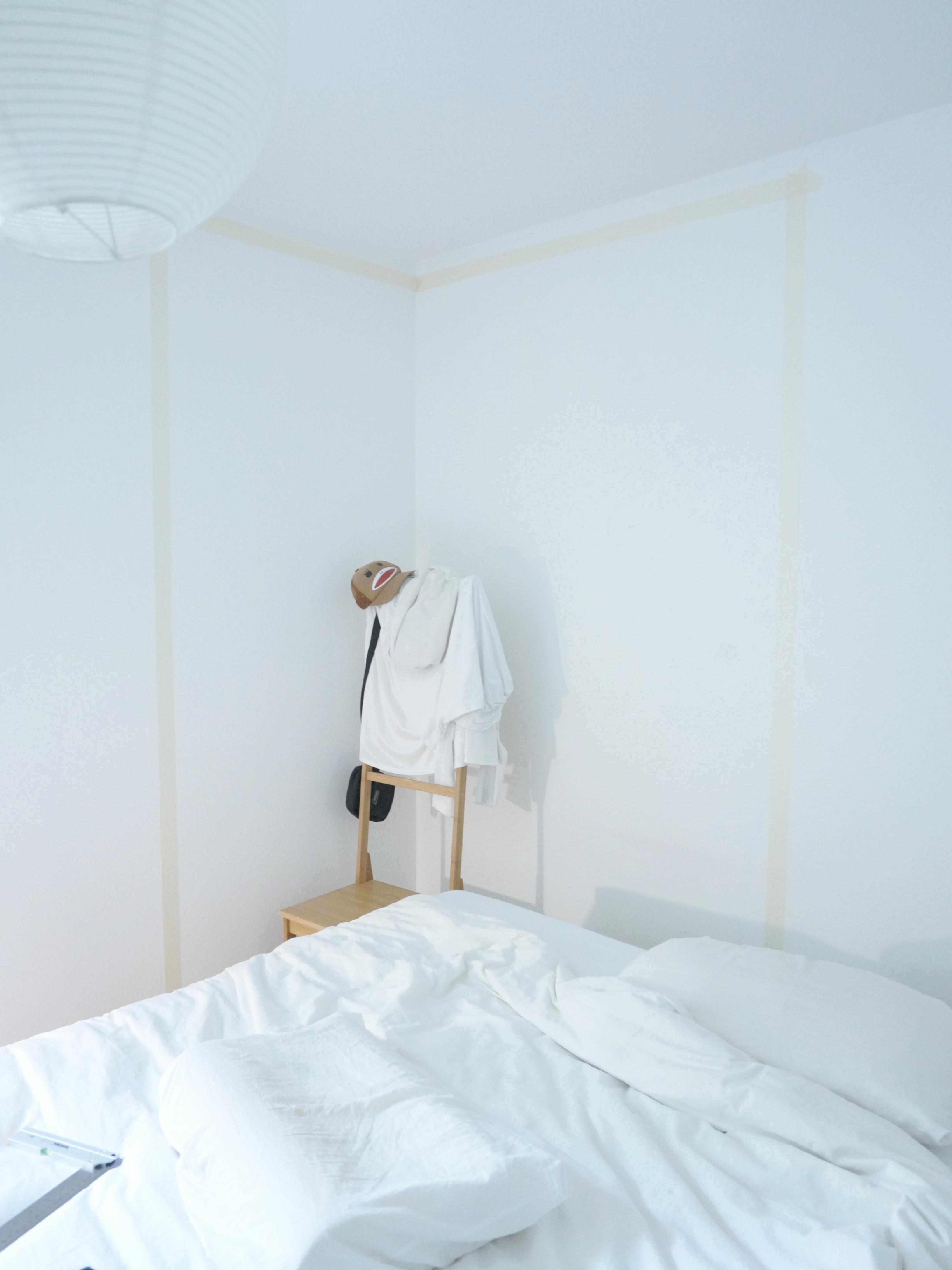 Wochenend DIY: bedroom makeover - während 01