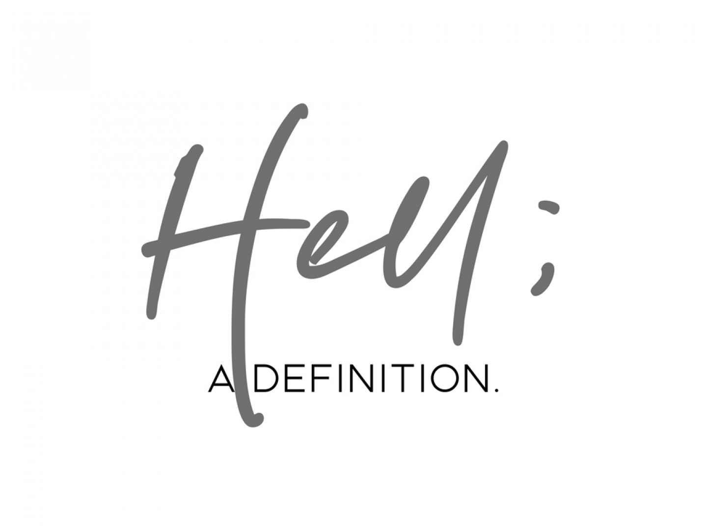 Hell-a definition