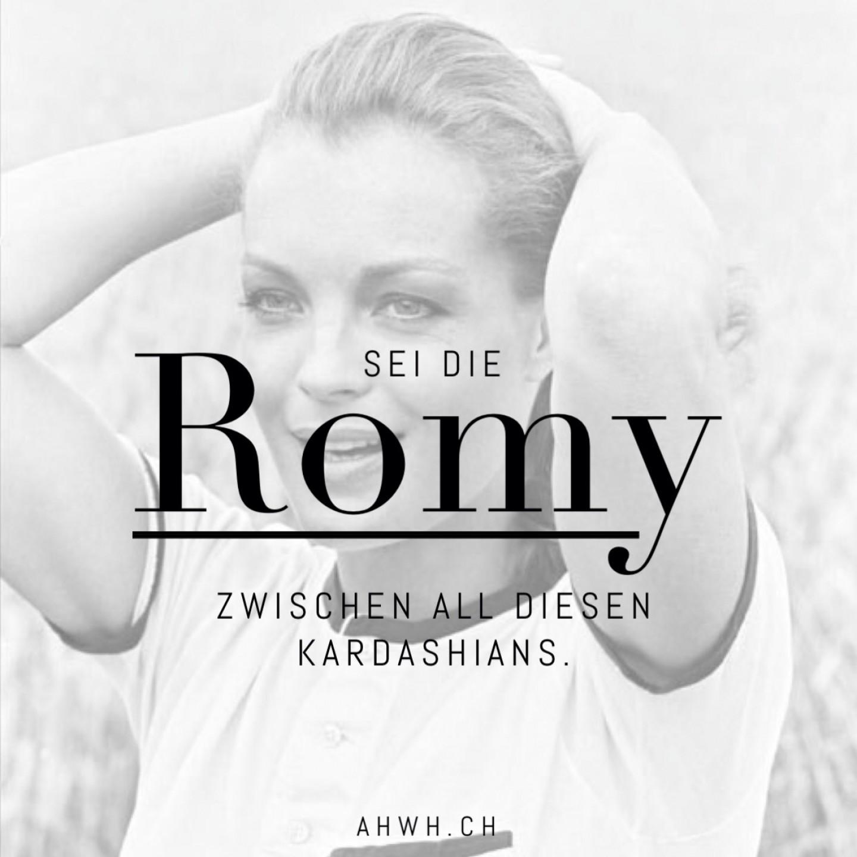 Sei die Romy unter all diesen Kardashians