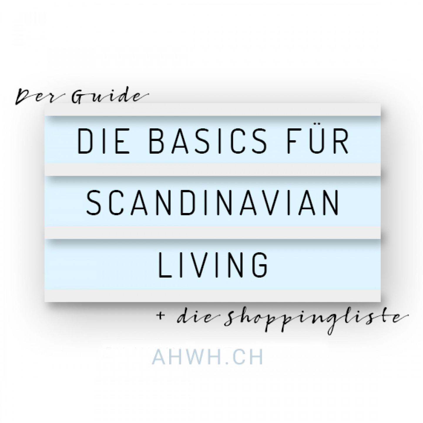 Scandiliving guide AHWHCH